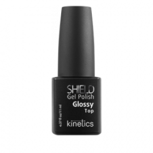 KINETICS Professional Nail Systems Верхнее покрытие с глянцем SHIELD Glossy Top 11мл США